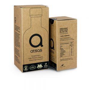 Atsas aliejaus rinkinio dėžutės 100 ml ir 250 ml